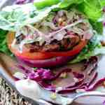 Grilled Jerk Chicken Burgers