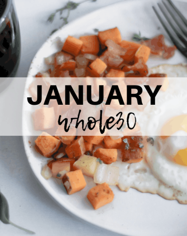 #januarywhole30 the ins and outs
