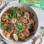 whole30 shrimp pad thai [paleo, low carb]