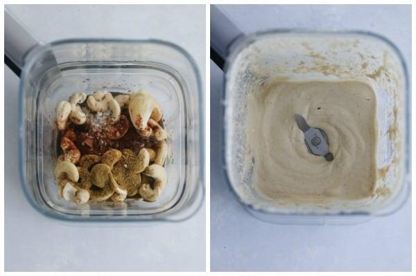 chipotle cashew queso dip
