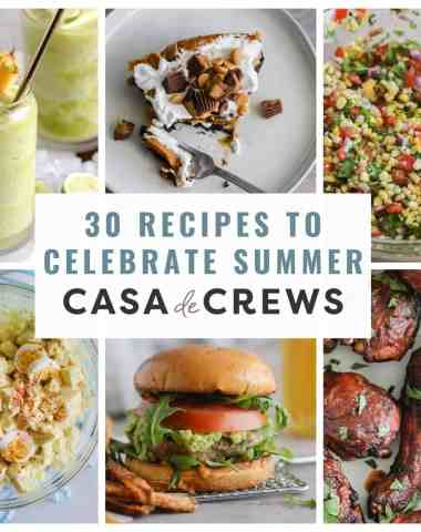 30 recipes to make in the summer