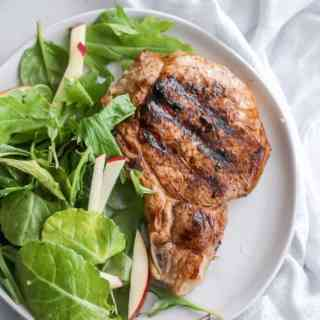Habanero Grilled Pork Chops
