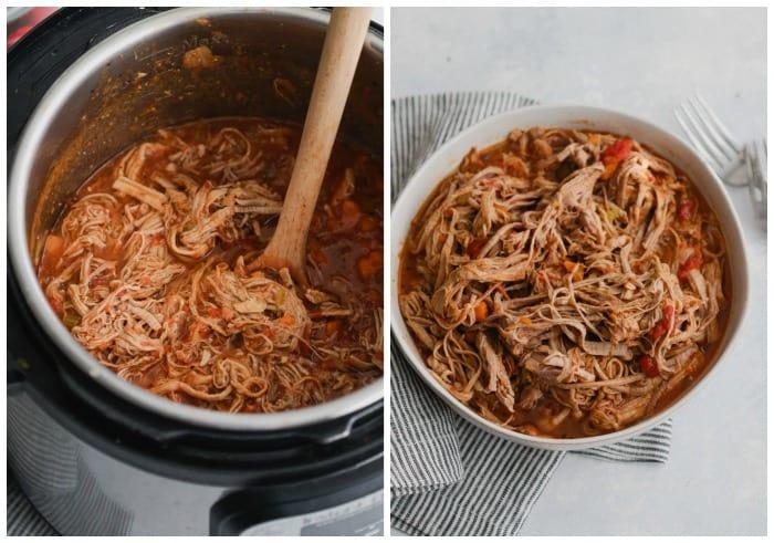 Instant Pot Pulled Pork Ragu