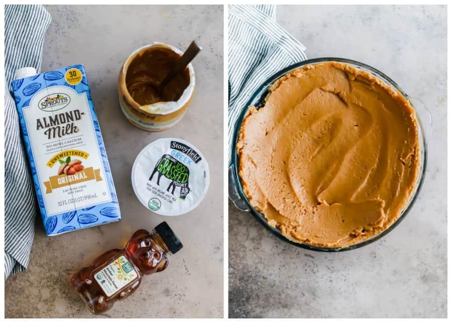 healthier peanut butter pie ingredients