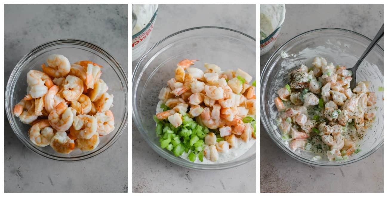 how to make shrimp roll lettuce cups