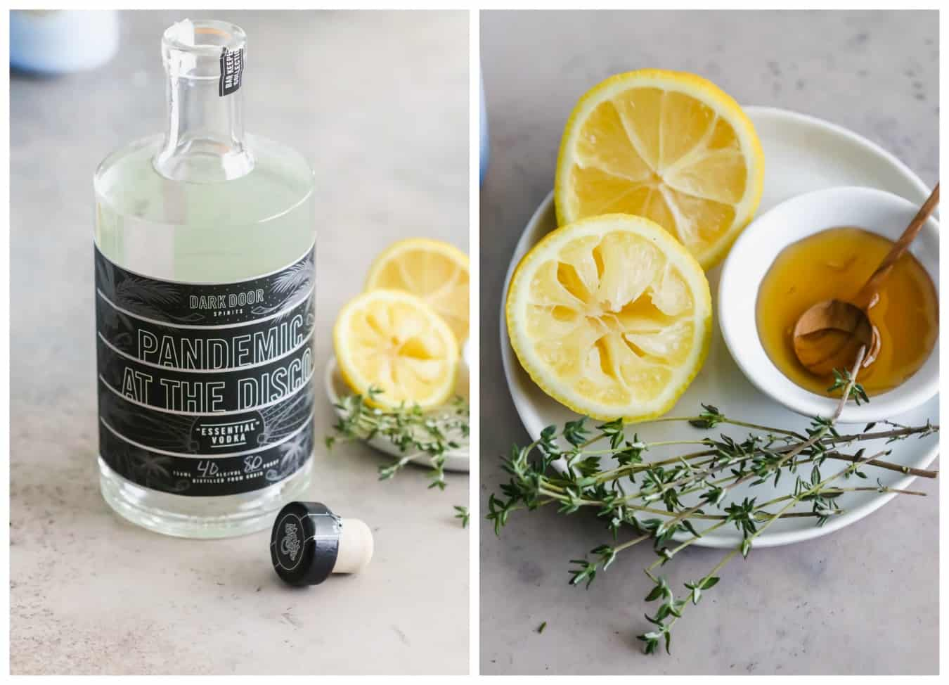 boozy backyard lemonade ingredients