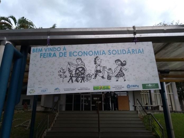 Feira Economia Solidária FURB