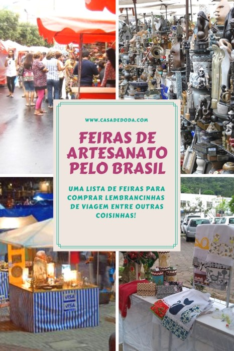 Feiras de Artesanato pelo Brasil