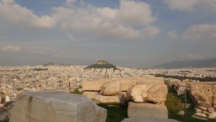 Maratona de Atenas Monte Licabettus
