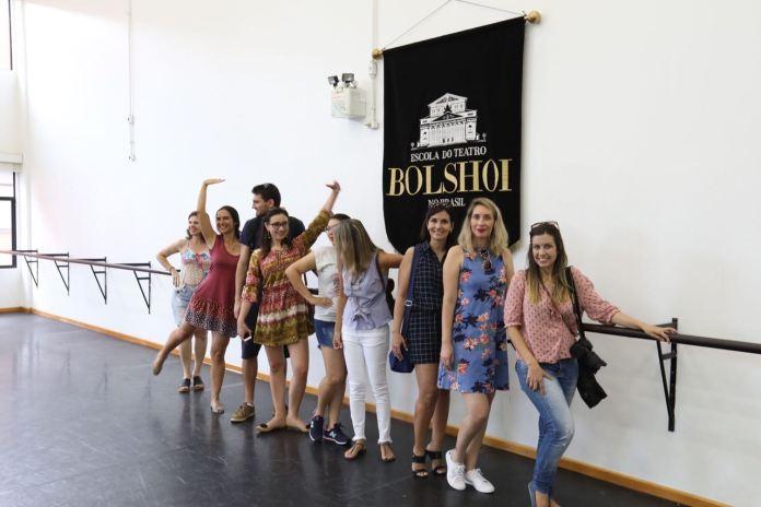 Encontro de Blogueiros Teatro Bolshoi