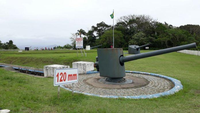 Forte Marechal Luz canhões