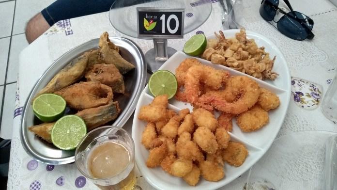 O que fazer em Itajaí Mercado do Peixe Box 30