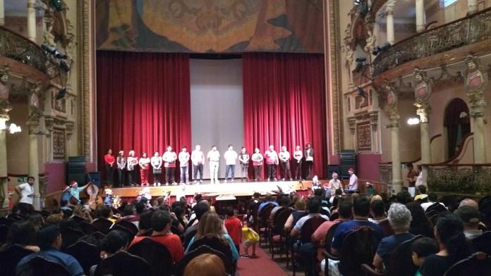 Teatro Amazonas - Palco e Plateia