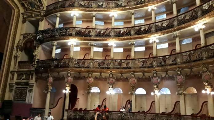 Teatro Amazonas - Camarotes e Máscaras