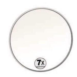 Espelho acrílico 7x aumento
