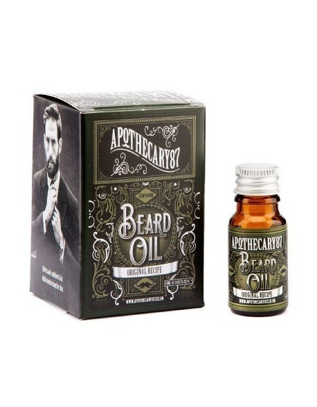 APOTHECARY 87 THE ORIGINAL RECIPE BEARD OIL 10ml