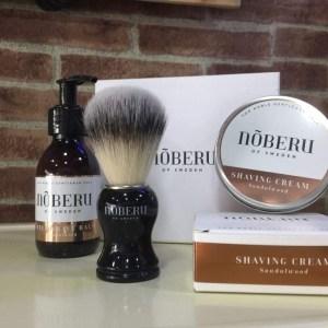 Nõberu- conjunto de barbear