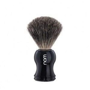 Pincel de barbear NOM Cinza (Serie Gustav preto)