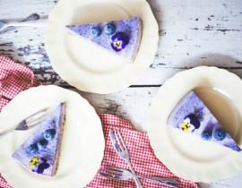 Berry Swirl Cheesecake casa de karma