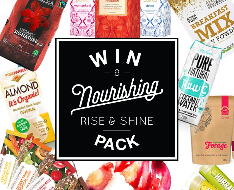 win a nourishing rise and shine pack