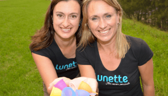 Lunette Australia Owners, Carol and Elizabeth