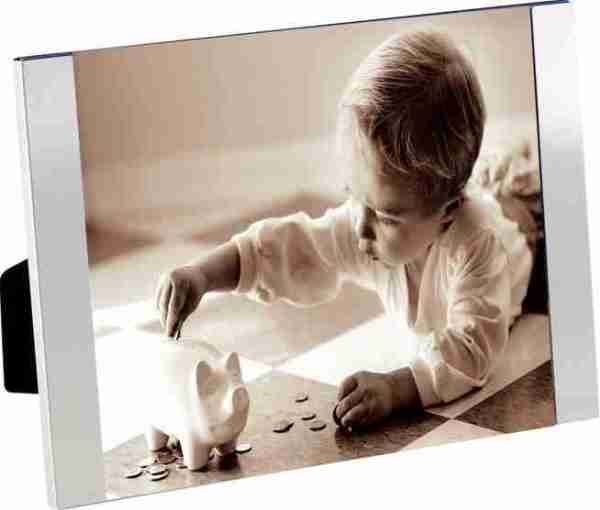 P.ta foto vetro bordo alluminio Padova 15x20