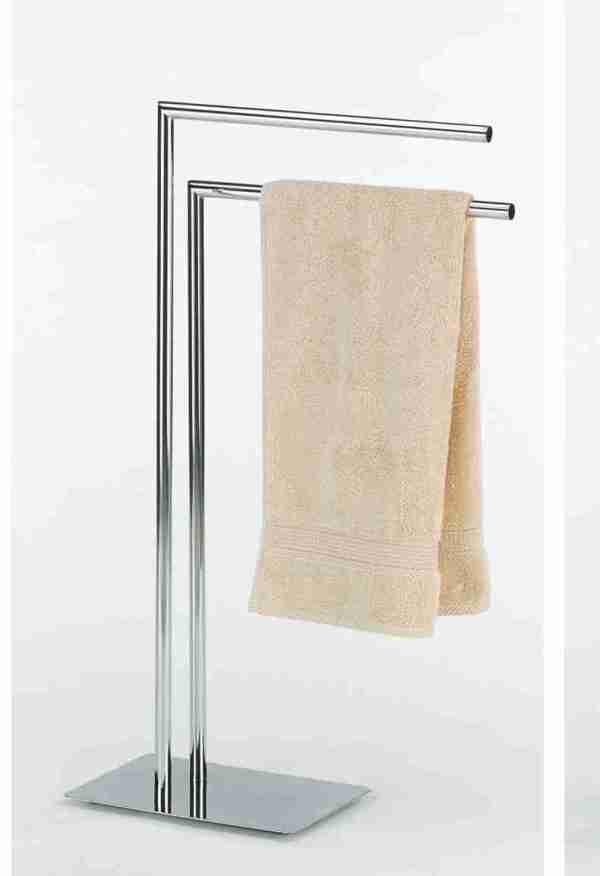 Piantana cromata p.ta asciugamano Kela