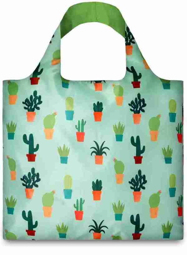 Shopper richiudibile Cactus Loqi