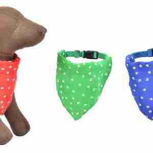 Bandana per animali domestici colori assortiti