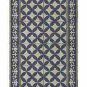 Tappeto vinile Beija Flor Dec.Sofi Autentics SO16-C cm.60x80
