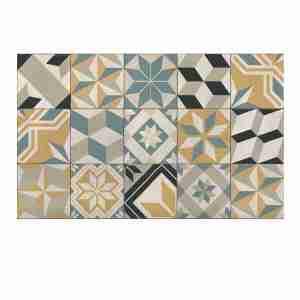 Tappeto vinile Beija Flor decoro Eclectic EG4-C CM.60X80