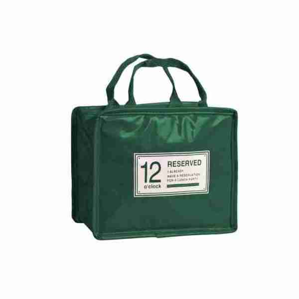 Reserved lunch bag green Pusher