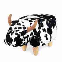 Sgabello La Vache nero/bianco Balvi art.27174