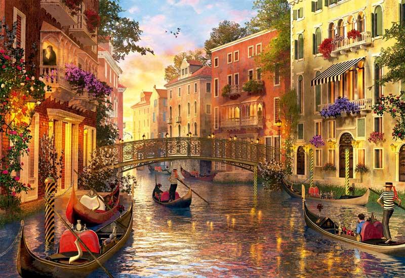 Comprar Puzzle Educa Atardecer en Venecia de 1500 Piezas