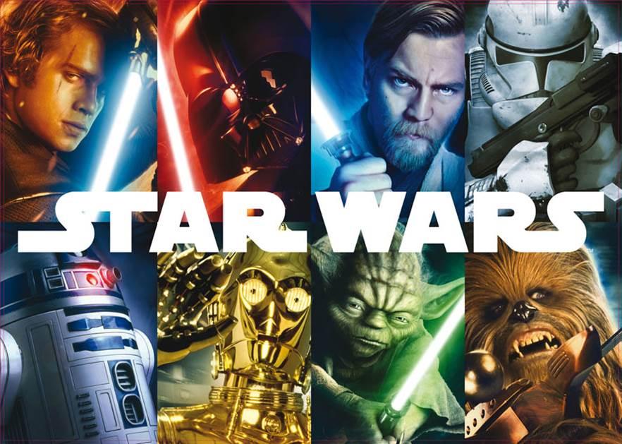 Puzzles Educa  Puzzle de 1500 Piezas Star Wars Los