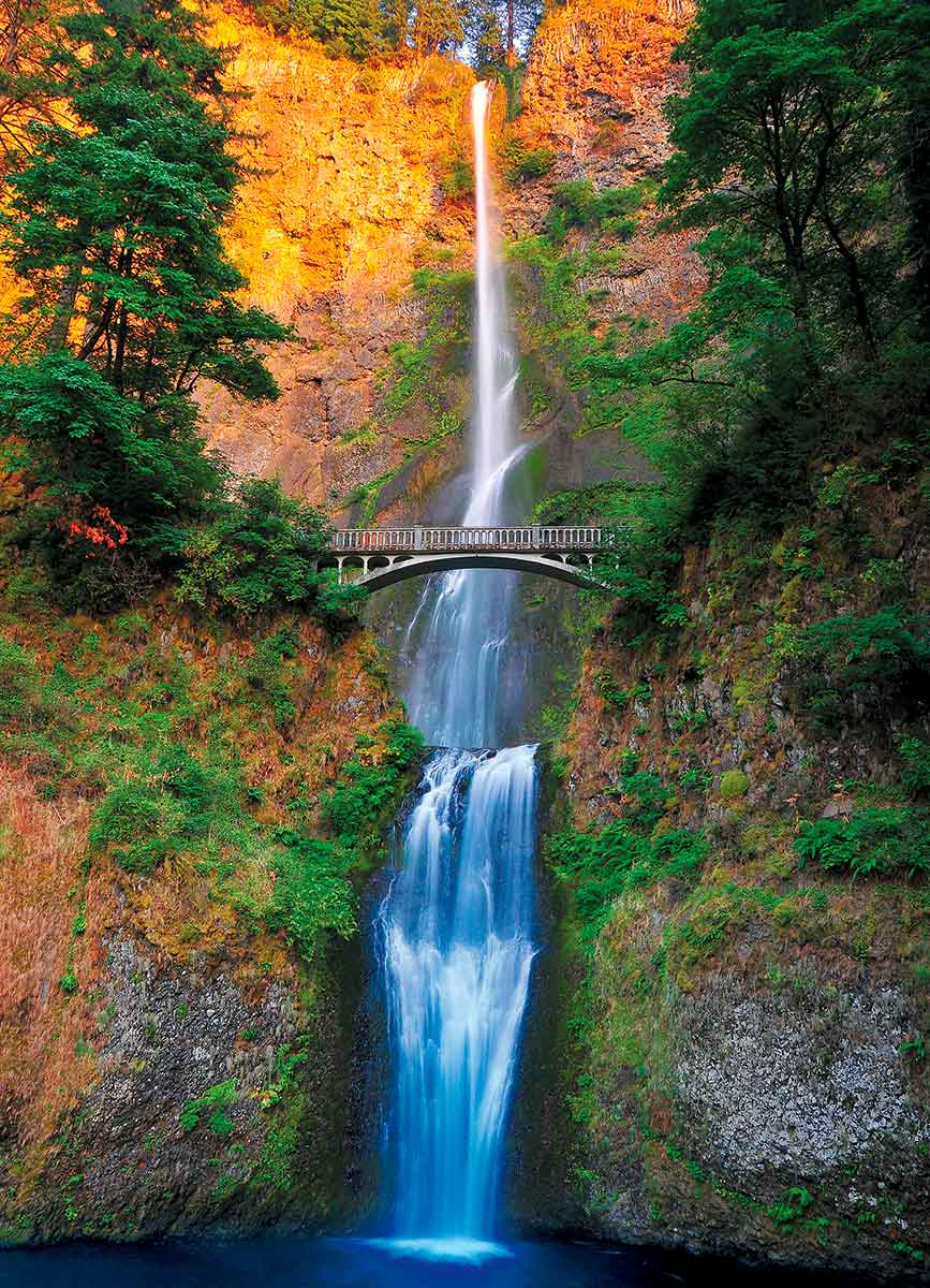 Comprar Puzzle Eurographics Cataratas Multnomah Oregon de