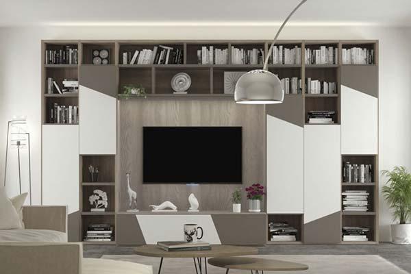 Napol presenta una composizione in grado di fare dell'ambiente giorno uno spazio piacevolmente vivibile e arredato con classe, mixando quindi doti. Arredamento Living Soggiorno E Pareti Attrezzate Casa Design
