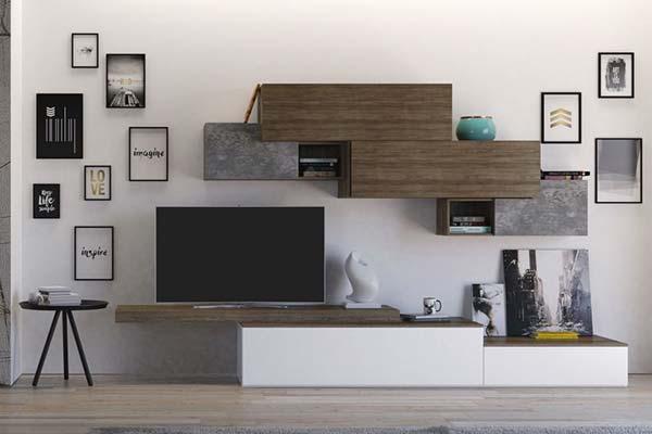 Le soluzioni che vi offriamo per l'arredo della casa sono numerose e diverse, e sono tutte pensate per soddisfare gusti classici o moderni al fine di rendere confortevole e personalizzato ogni ambiente della vostra. Arredamento Living Soggiorno E Pareti Attrezzate Casa Design
