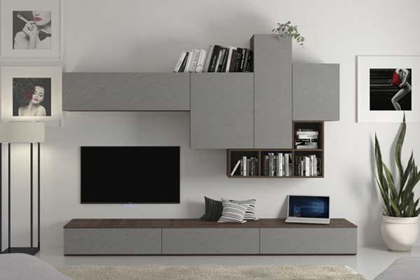 Tra le pareti attrezzate moderne del brand, potrai trovare pure il modello presente in foto: Arredamento Living Soggiorno E Pareti Attrezzate Casa Design