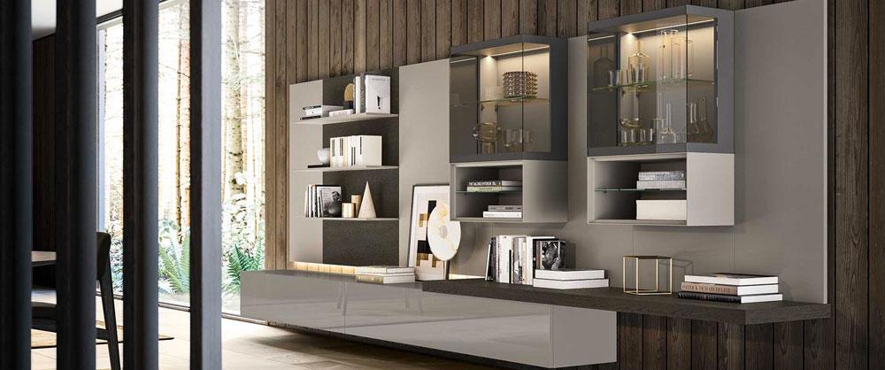 Scrivania attrezzata in vendita in arredamento e casalinghi: Arredamento Living Soggiorno E Pareti Attrezzate Casa Design