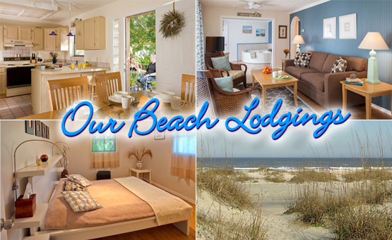 Our Beach Lodgings