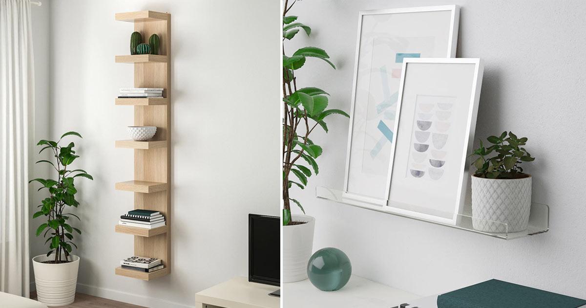 Allora è necessario capire quali sono gli oggetti che vorremmo posizionare sopra gli scaffali. Mensole Ikea 10 Idee Per Arredare Le Pareti Con Stile