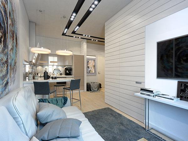 Come sfruttare al meglio lo spazio 4 mini appartamenti di design  Casa di stile