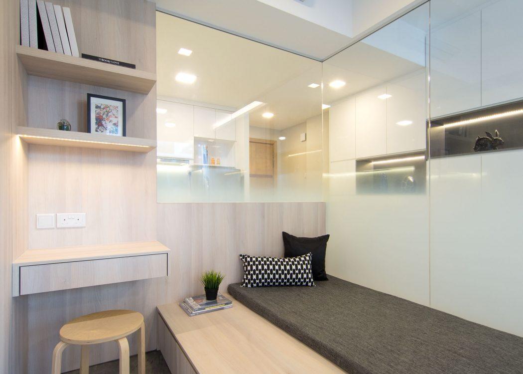 40 metri quadrati per un monolocale di design  Casa di stile