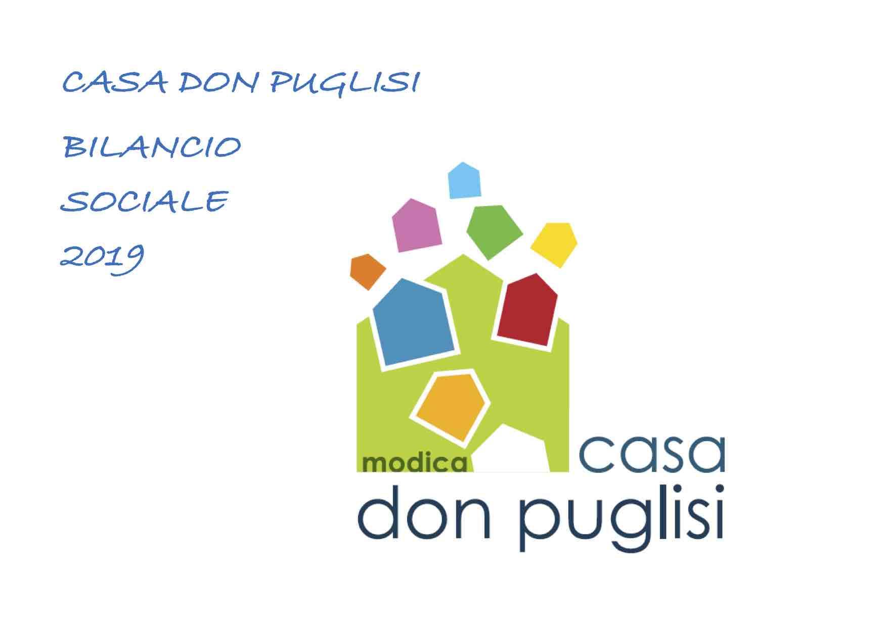 Casa don Puglisi presenta il bilancio sociale 2019