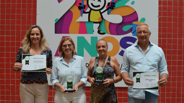 Casa Durval Paiva é escolhida a Melhor Ong do Brasil pelo Instituto Doar