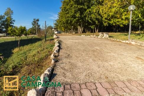 Vista casa di campagna Pratella (20)