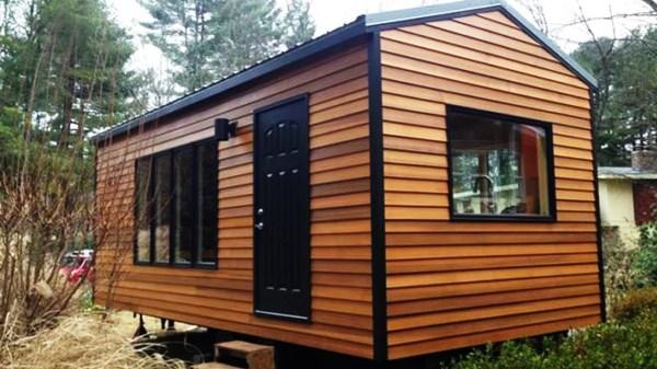 Case mobili Bungalow Case su ruote Casa Ecolegno