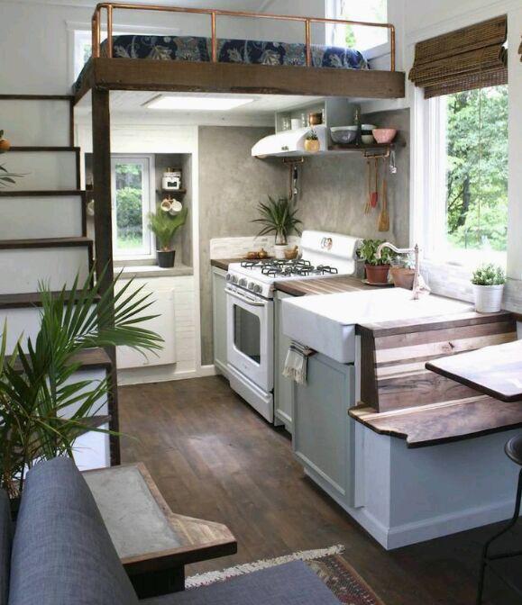 Case mobili su ruote  Interni  Casa Ecolegno