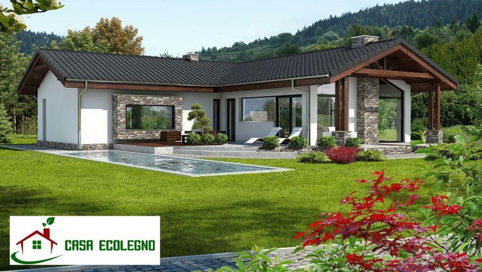 Case prefabbricate in legno prezzi e offerte  Casa Ecolegno